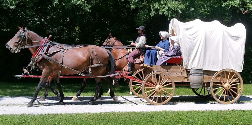 Covered Wagon side