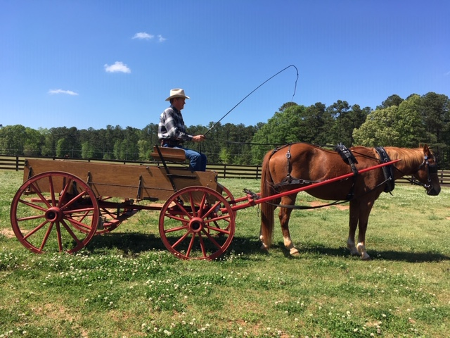 Red Wheel Farm Wagon Available For Movies