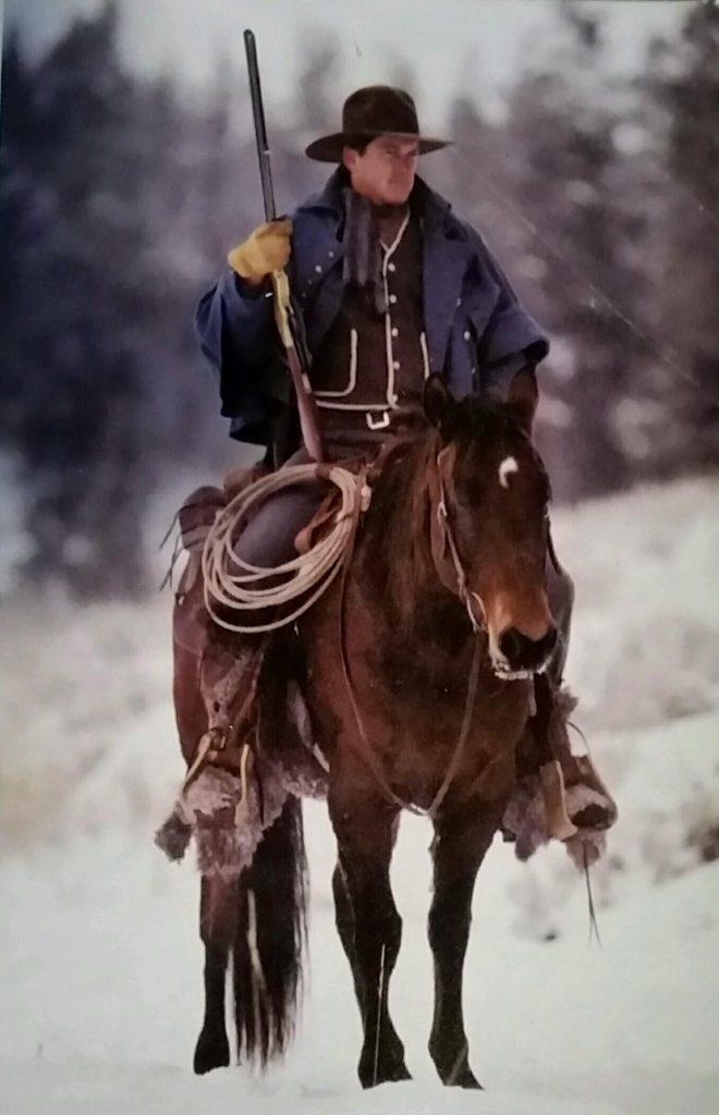 Mountain Man - Horse Stunt Riders